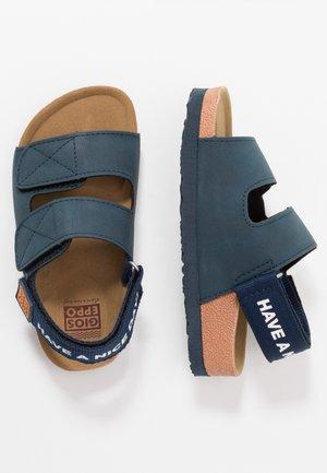 DESSEL - Sandals - navy