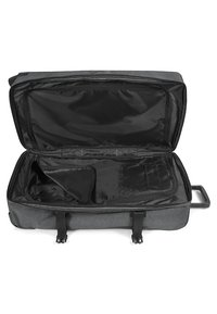 Eastpak - TRANVERZ L CORE COLORS - Wheeled suitcase - black denim - 7