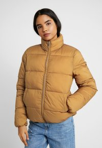 ONLY Tall - ONLNINA QUILTED JACKET - Vinterjakker - toasted coconut - 0