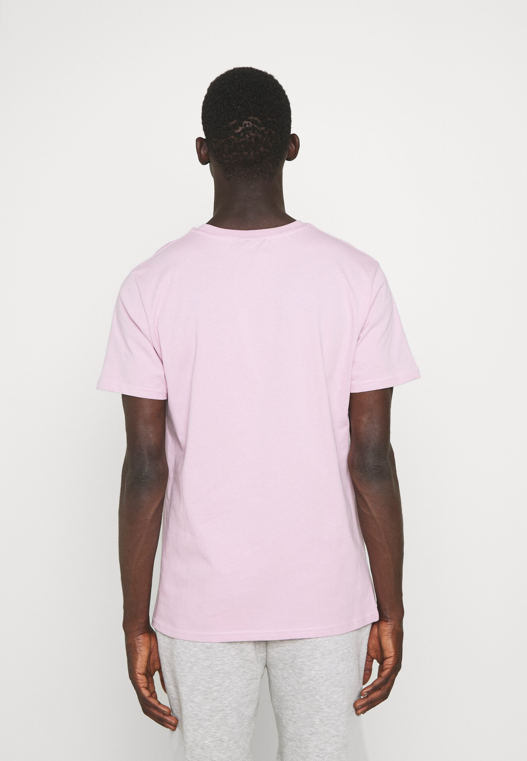 Herren BLOCK SCRIPT LOGO TEE - T-Shirt print