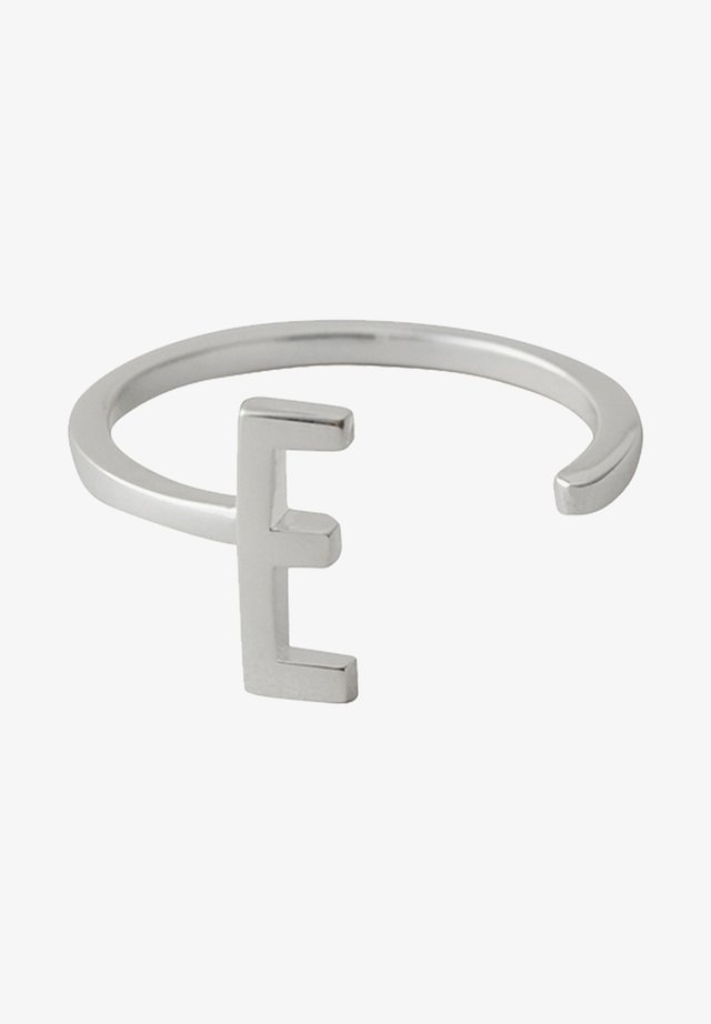 RING E - Ring - silver