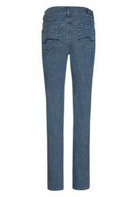 Angels - CICI' MIT DEZENTER WASCHUNG - Straight leg jeans - stone-blue denim