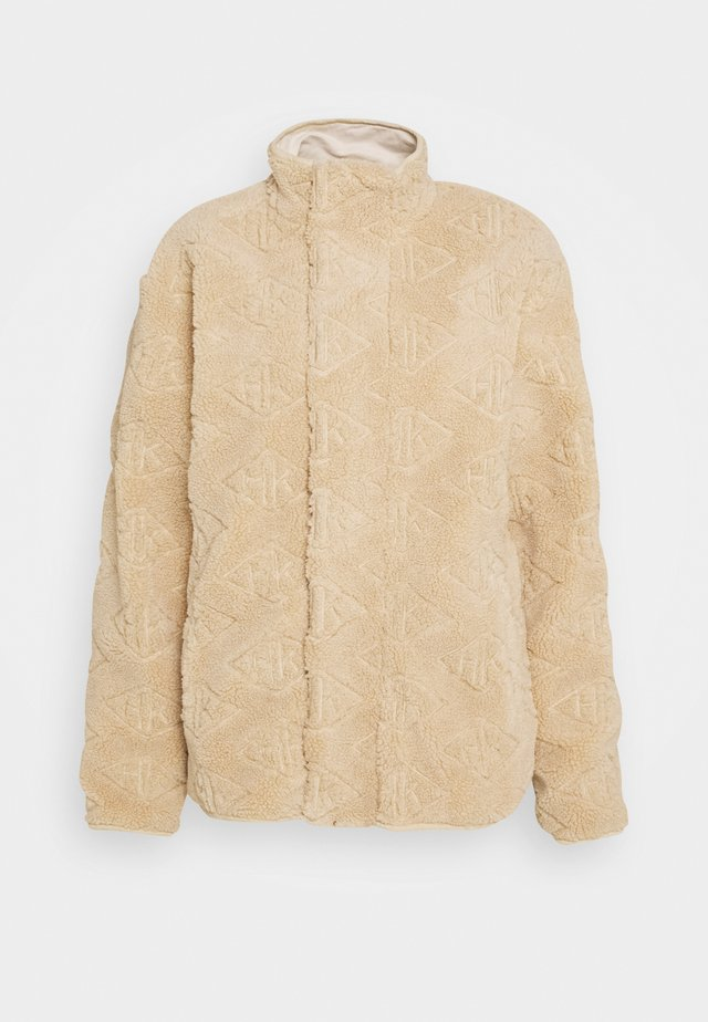 TRACK - Winter coat - sand