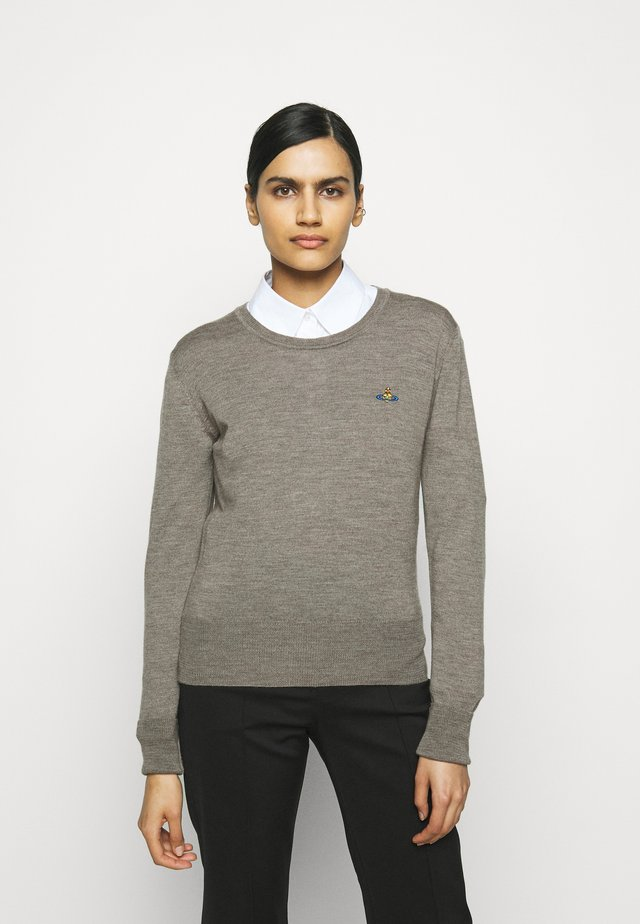 BEA JUMPER - Pullover - grey