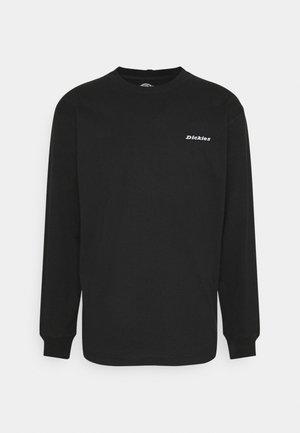 LORETTO TEE - Long sleeved top - black