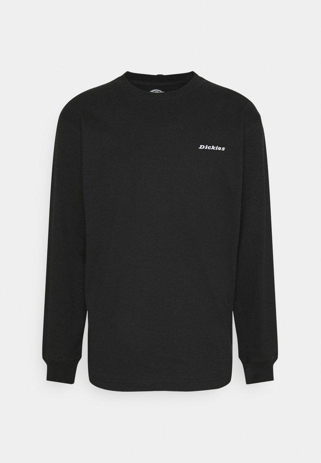 LORETTO TEE - Maglietta a manica lunga - black