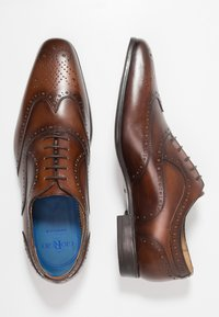 Giorgio 1958 - Elegantní šněrovací boty - cognac - 1
