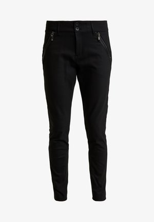 MILTON NIGHT PANT SUSTAINABLE - Trousers - black