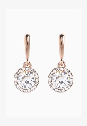SPARKLE DROP WITH SWAROVSKI® CRYSTALS - Earrings - gold