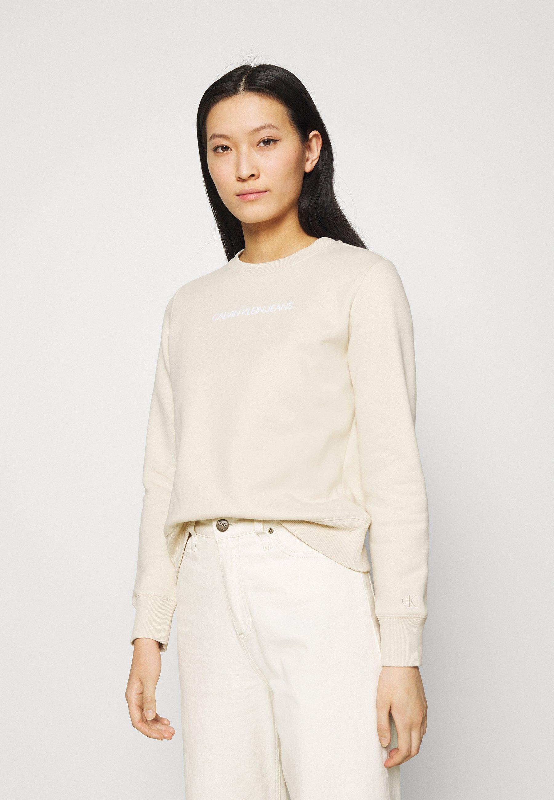Women SHRUNKEN INSTITUTIONAL CREW NECK - Sweatshirt