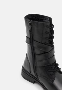 Friboo - LEATHER - Lace-up boots - black - 12