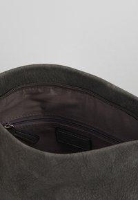 TOM TAILOR - PERUGIA - Across body bag - dark grey - 4