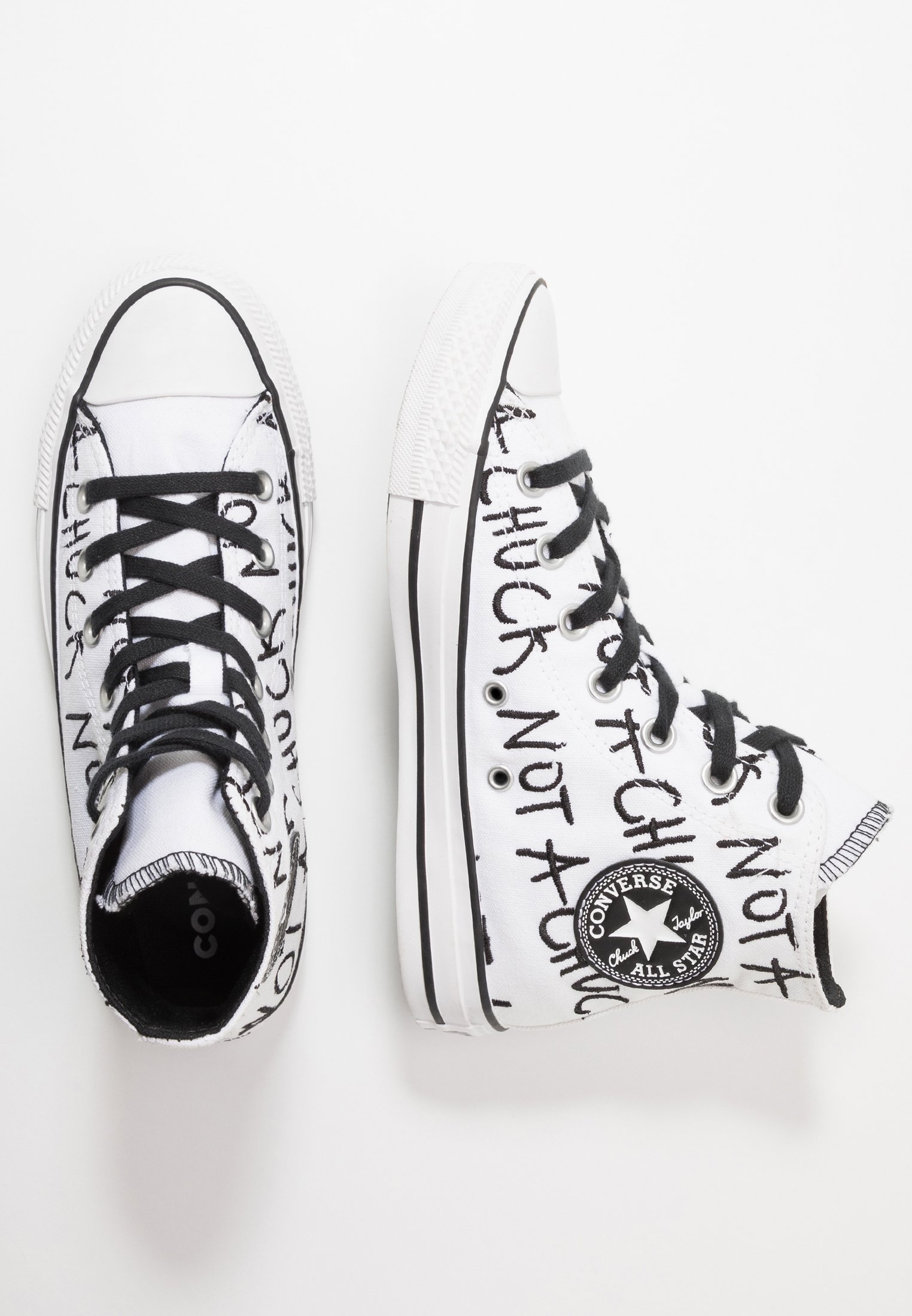CHUCK TAYLOR ALL STAR NOT A CHUCK - Sneakers hoog - white