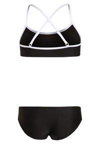 Bench - BENCH BOCA - Bikini - black/white - 1