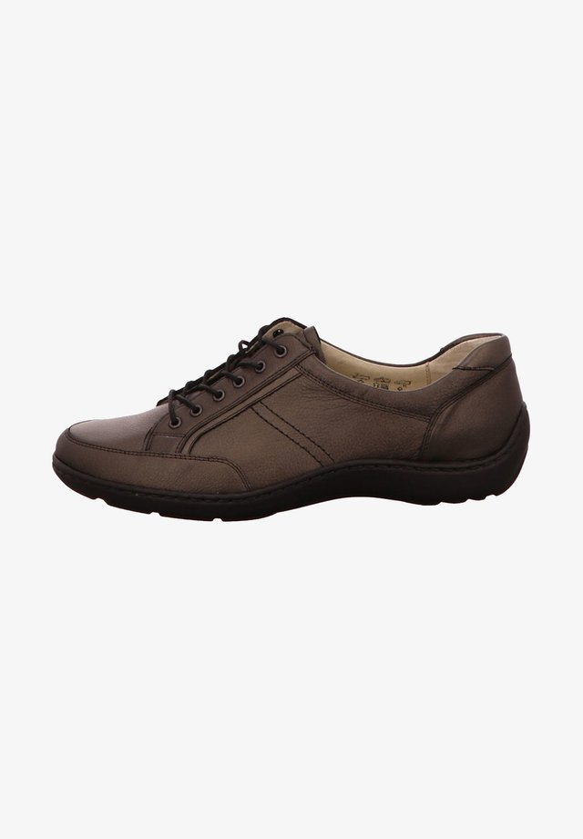 Casual lace-ups - schiefer