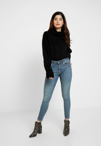 Missguided Petite - BATWING - Pullover - black - 1