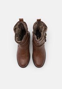 Dorothy Perkins - ARUBABUCKLE BOOT - Kovbojské/motorkářské boty - brown - 5
