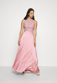 Lace & Beads - LIZA MAXI - Occasion wear - pink - 3