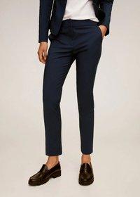 Mango - COFI7-N - Pantalon classique - bleu marine foncé - 0