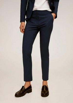 COFI7-N - Spodnie materiałowe - bleu marine foncé