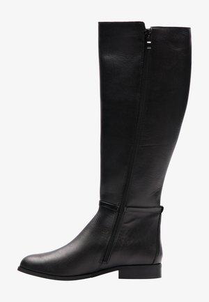 Overknee laarzen - schwarz