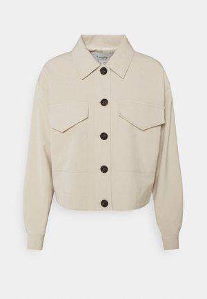 BYDANTA BOXY JACKET - Summer jacket - oyster