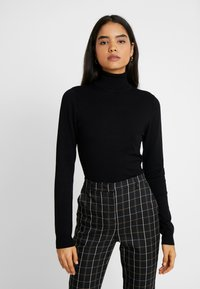 Even&Odd Tall - Sweter - black - 0