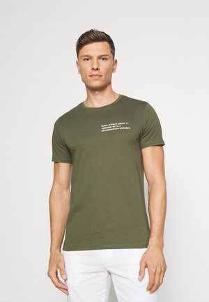 SHORT SLEEVE LOGO TEXT LOGO - T-shirts med print - asher tree