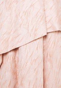 Adrianna Papell - TEXTURED DRAPED GOWN - Festklänning - blush - 2