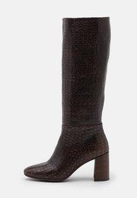 Kanna - AGATA - Vysoká obuv - testa di moro - 1