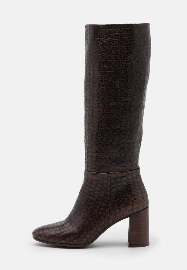 AGATA - Boots - testa di moro