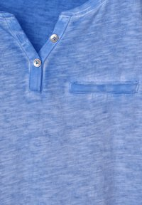 Cecil - Basic T-shirt - blau - 4