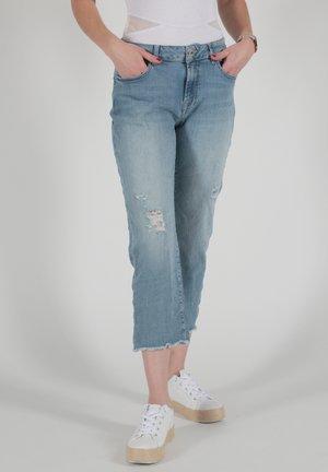 Straight leg jeans - blaugrau