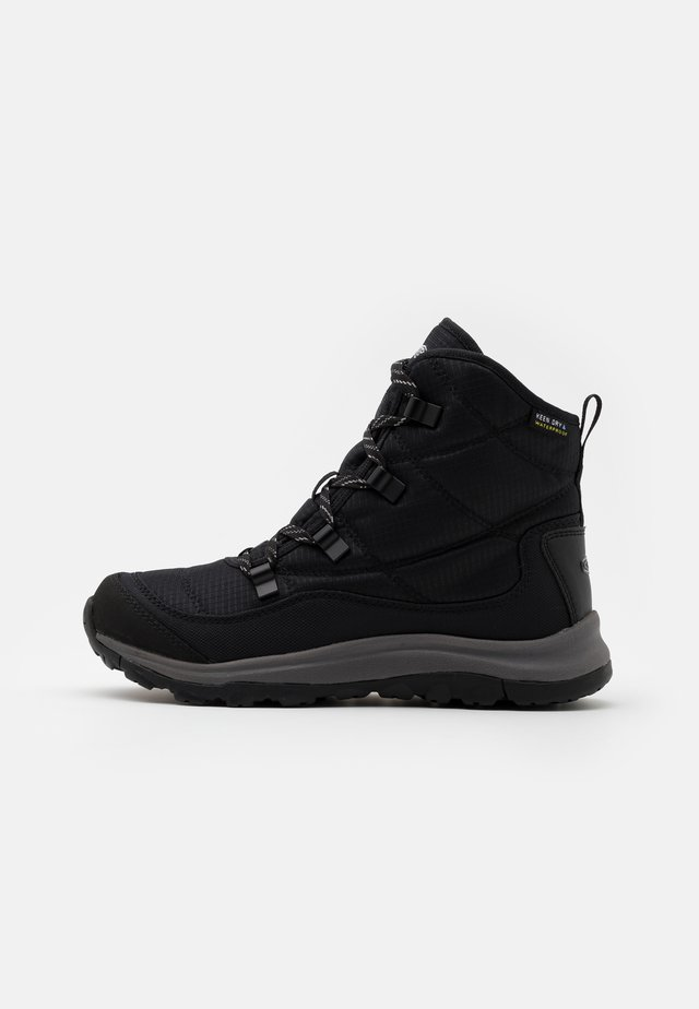 TERRADORA II ANKLE BOOT WP - Śniegowce - black/drizzle