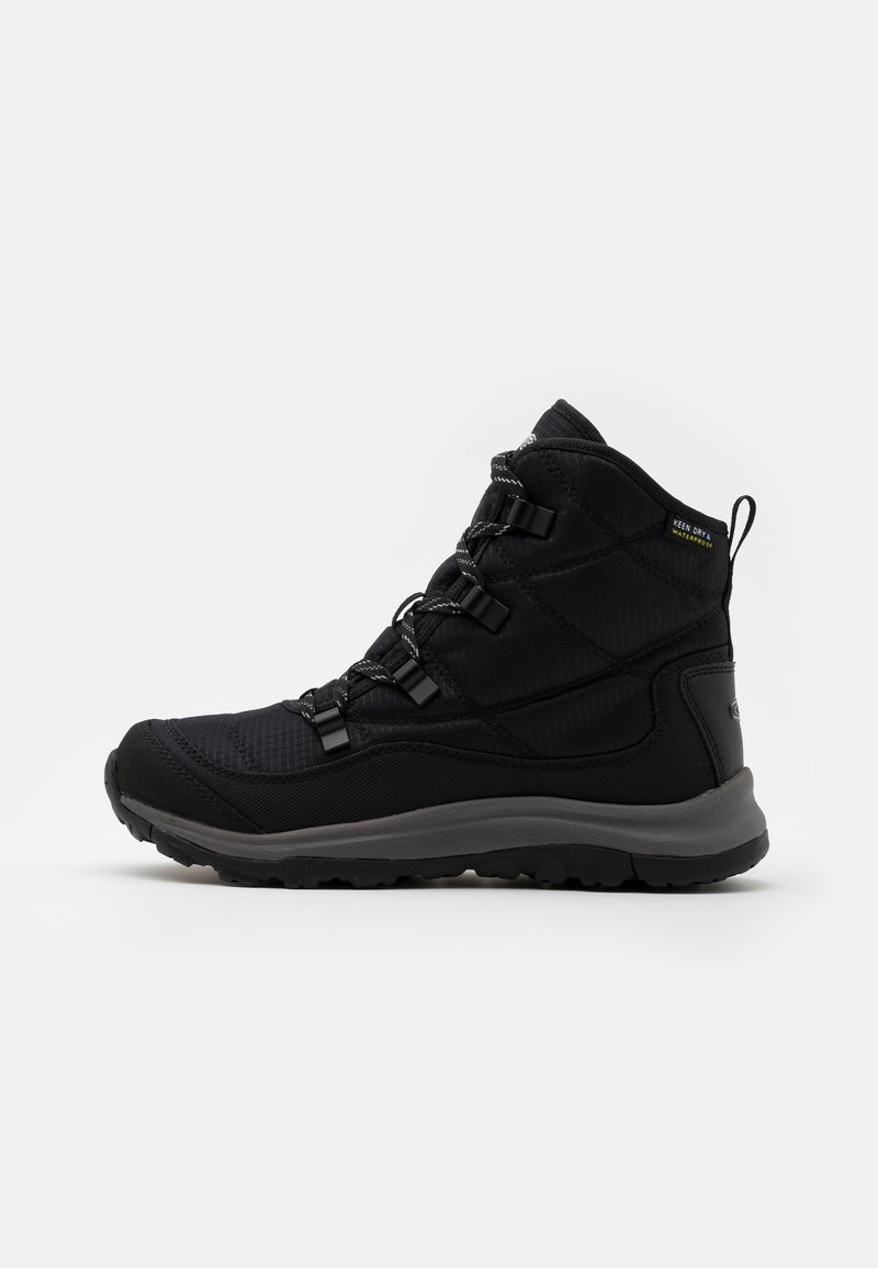 Keen - TERRADORA II ANKLE BOOT WP - Snowboots  - black/drizzle