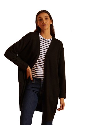 ALPACA  - Cardigan - black