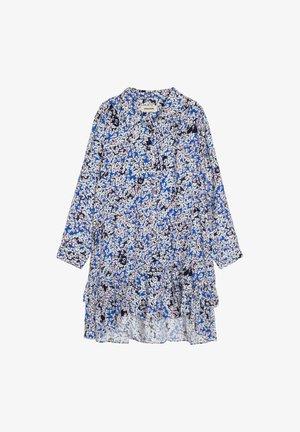 Robe chemise - bleu royal