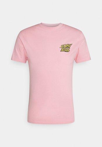 VOMIT UNISEX  - Print T-shirt - pink