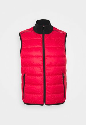 BOWN  - Waistcoat - open pink