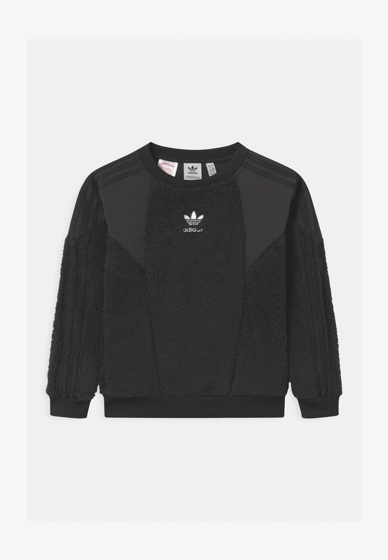 adidas Originals - CREW UNISEX - Sweat polaire - black