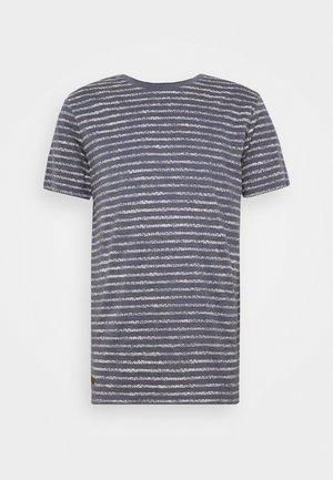 STEEF - T-shirt con stampa - navy