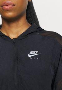 Nike Performance - AIR JACKET CROP - Outdoor jacket - black/reflective silver - 5