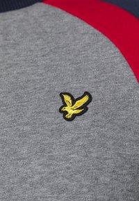 Lyle & Scott - THREE PANEL - Sweatshirt - mid grey marl - 5