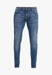 Nudie Jeans - TIGHT TERRY - Skinny-Farkut - steel navy - 4