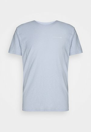 ASPEN PRINT TEE - T-shirt med print - light blue