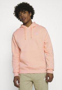 Nike Sportswear - CLUB HOODIE - Sweater - arctic orange - 0
