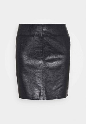 NMLISSY SHORT SKIRT - Mini skirt - black