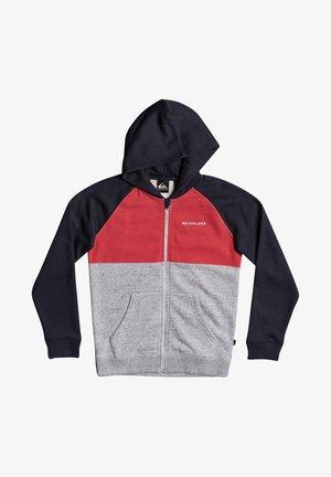 Zip-up hoodie - american red