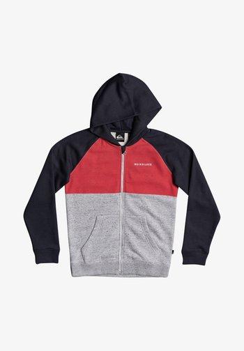 Zip-up sweatshirt - american red