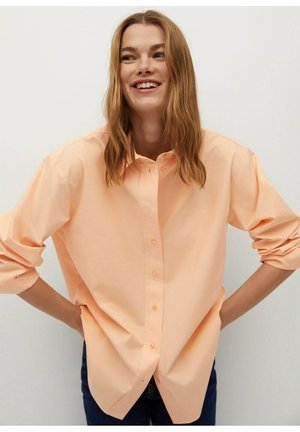 CORAL-H - Button-down blouse - corail